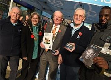 Photo courtsey of Basingstoke Gazette - 3rd November Malls Awareness Event - A  Great Success